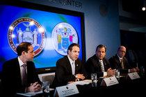 NY  Gov  Cuomo  and  NJ  Gov  Christie  ordering  quarantine  of  people  entering  U S.